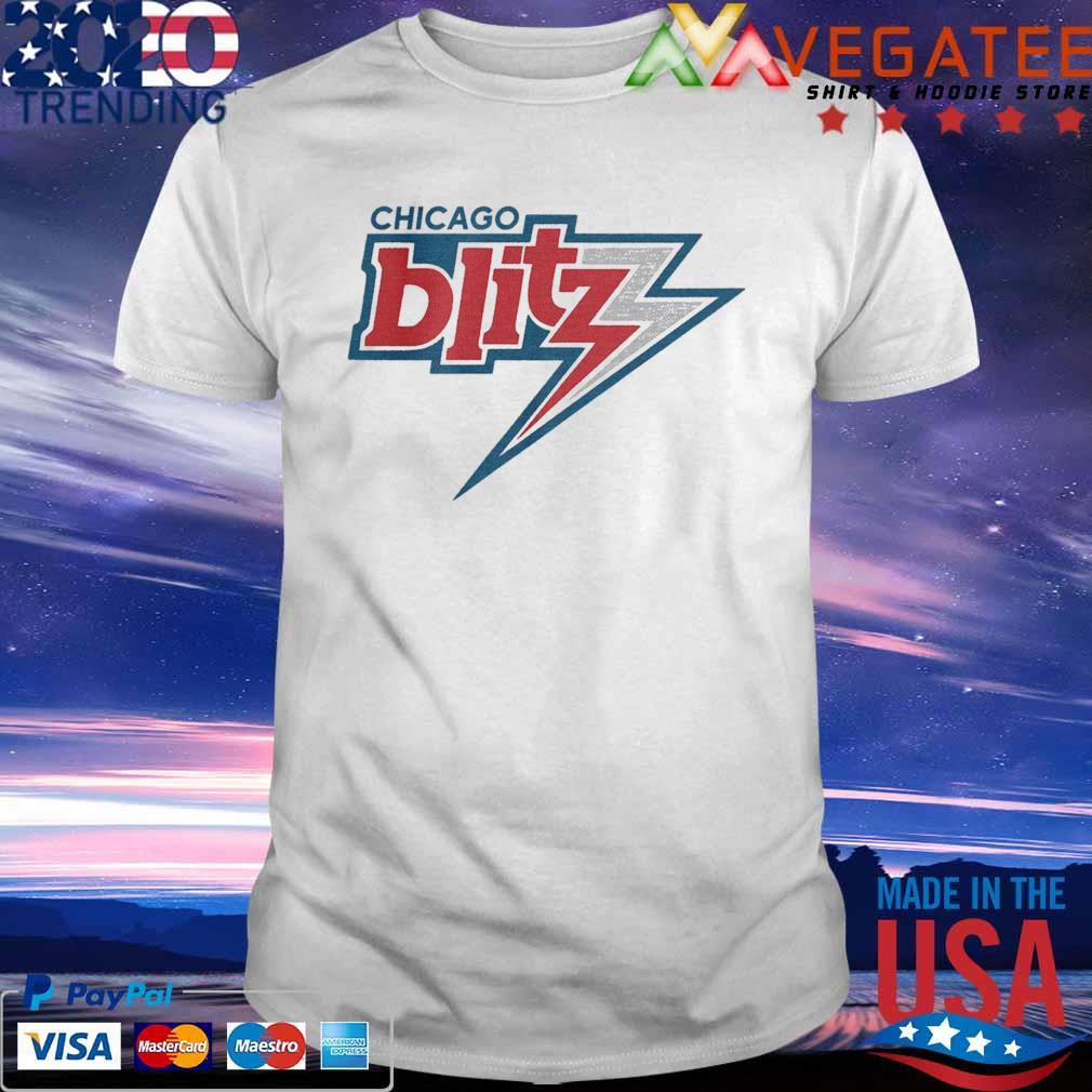 Official Chicago Blitz Football T-shirt