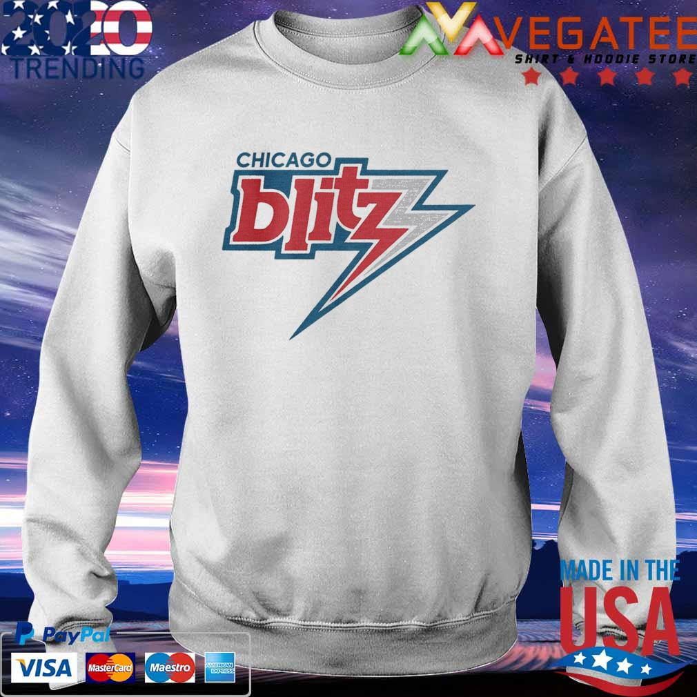 Official Chicago Blitz Football T-s Sweatshirt
