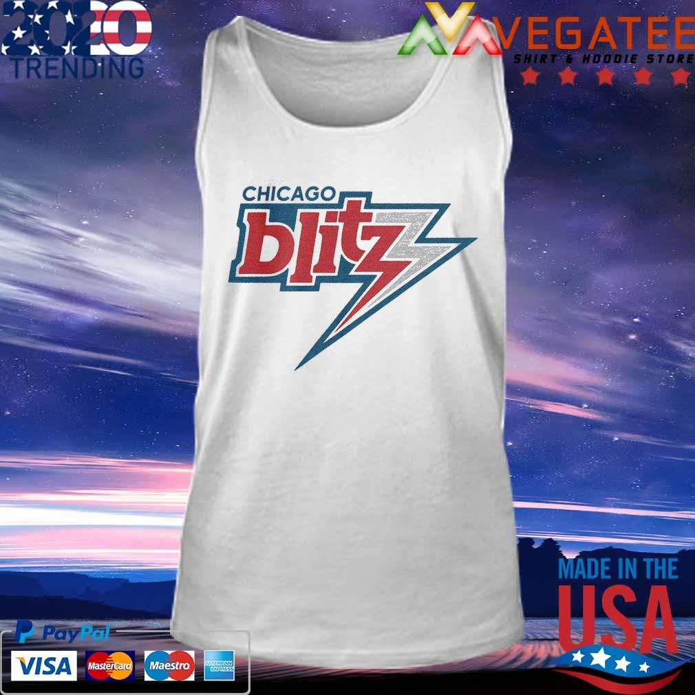Official Chicago Blitz Football T-s Tank top
