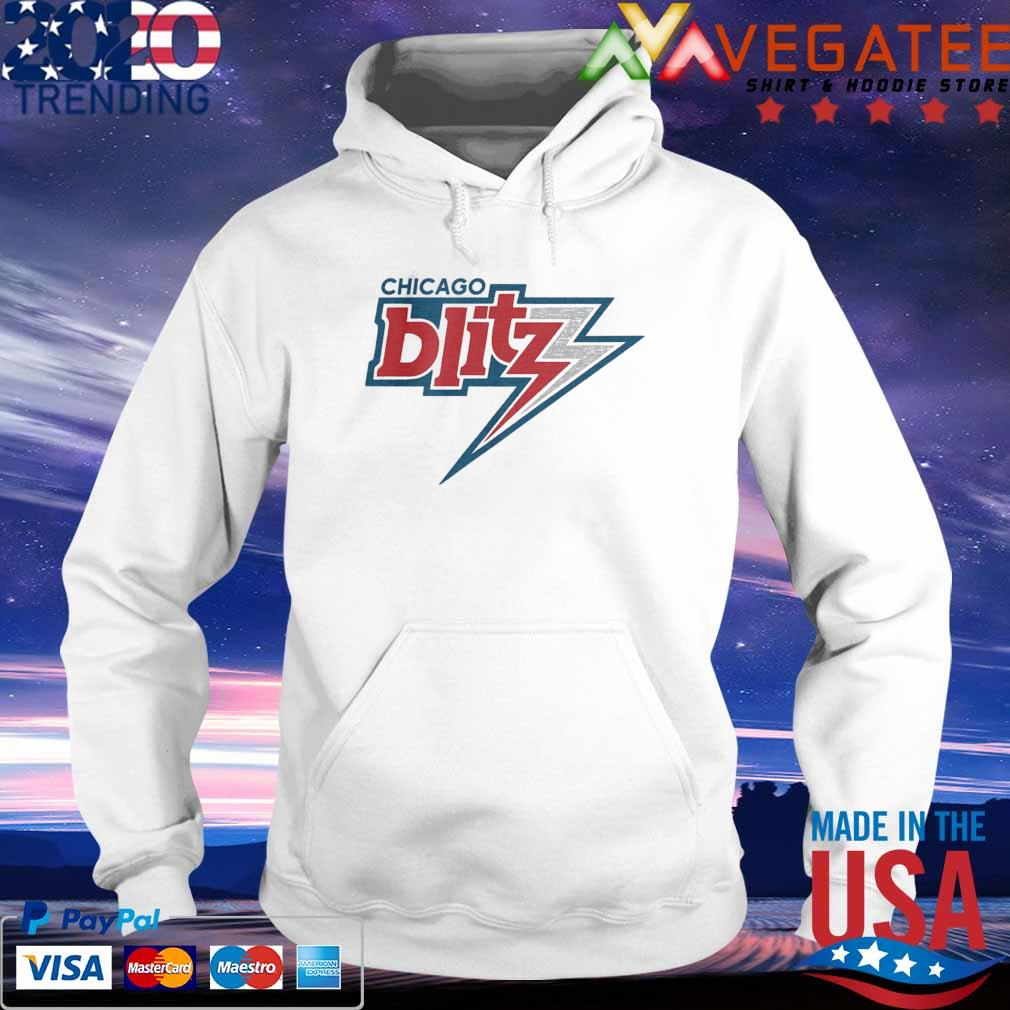 Official Chicago Blitz Football T-s hoodie