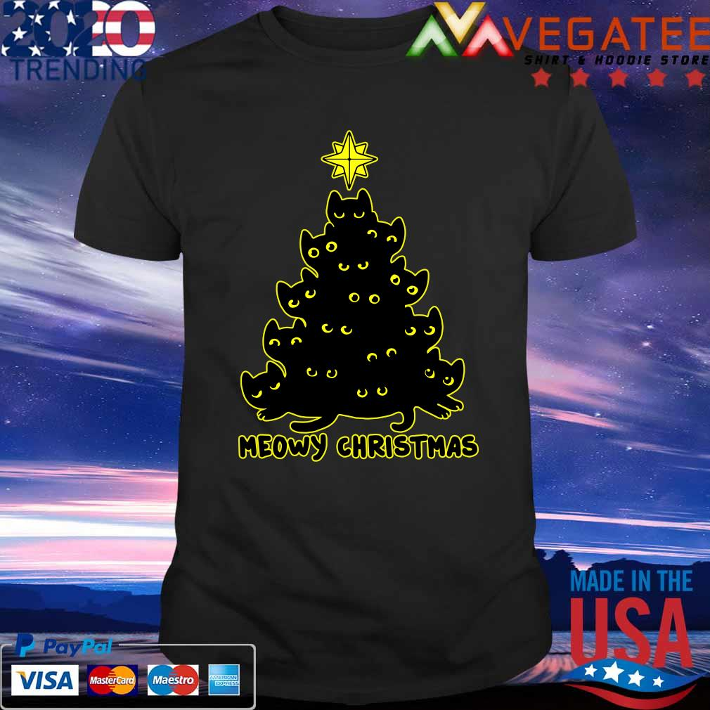Official Meowy Christmas tree 2020 shirt