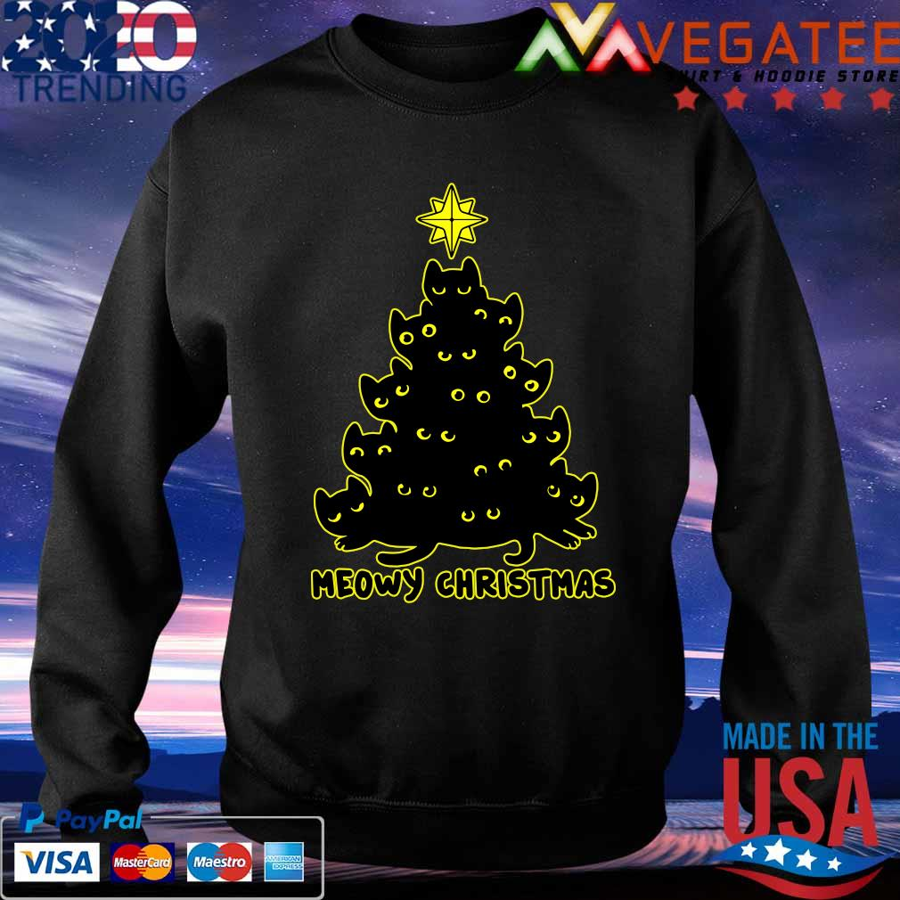 Official Meowy Christmas tree 2020 s Sweatshirt