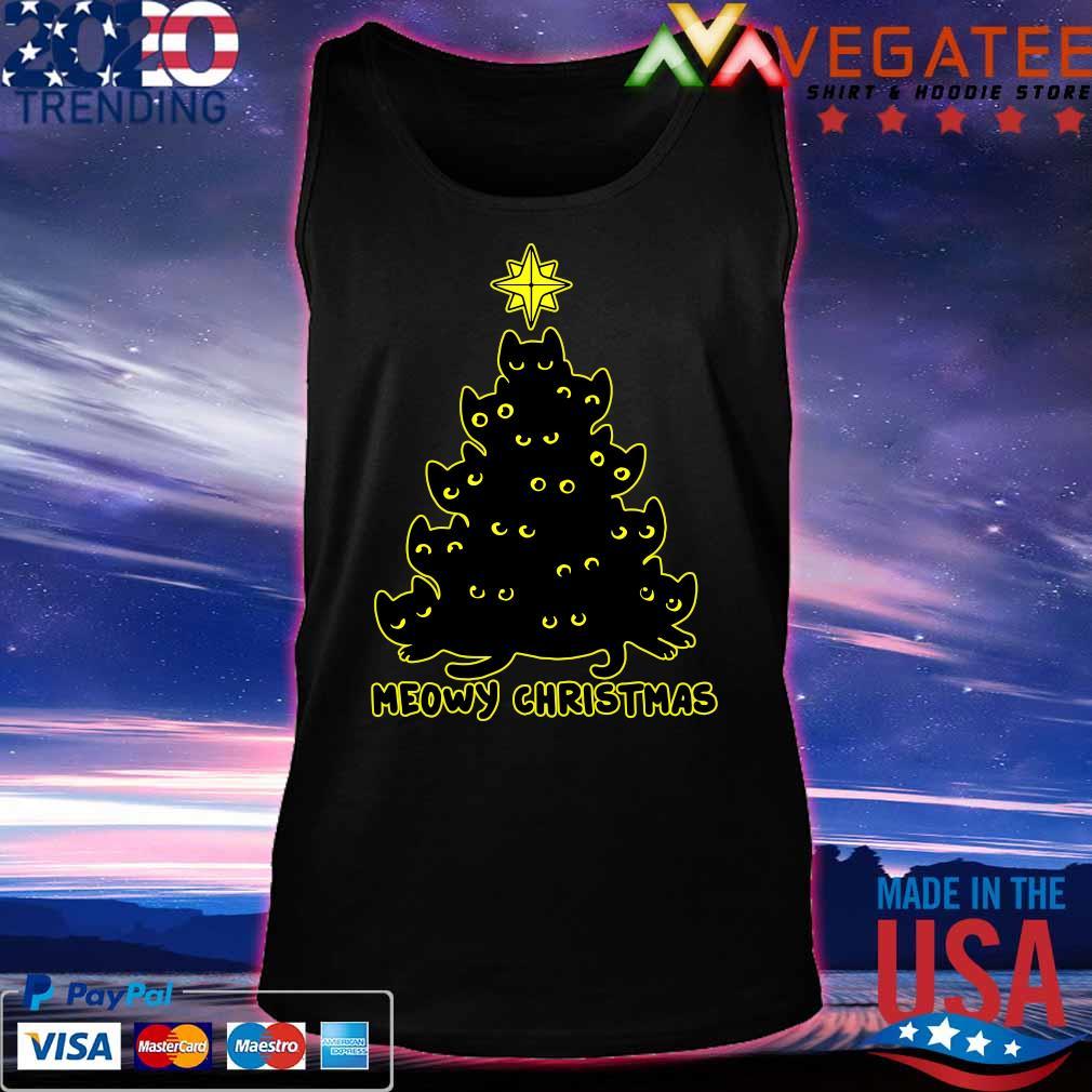 Official Meowy Christmas tree 2020 s Tanktop