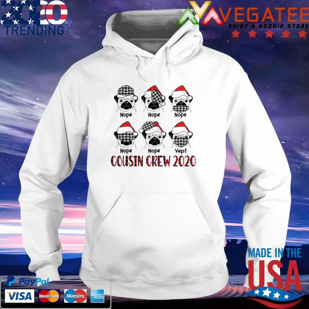 Pug Cousin Crew Cute Christmas 2020 Family Matching s hoodie