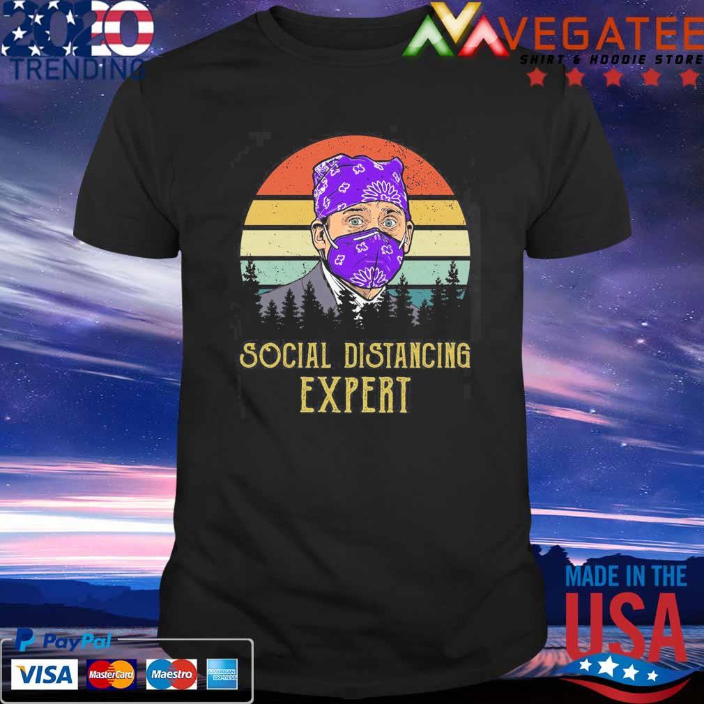 Social distancing Expert vintage shirt