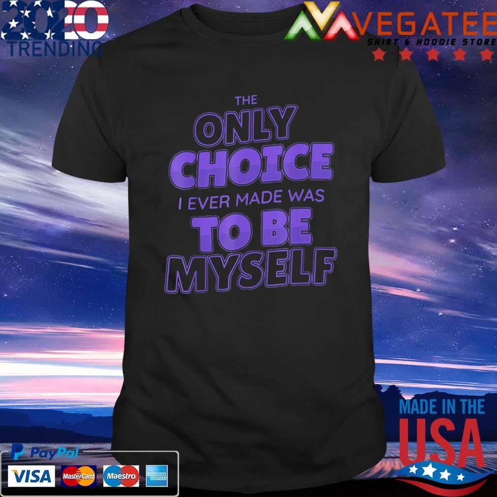 To Be Myself Made to Match Jordan 12 Dark Concord Retro shirt