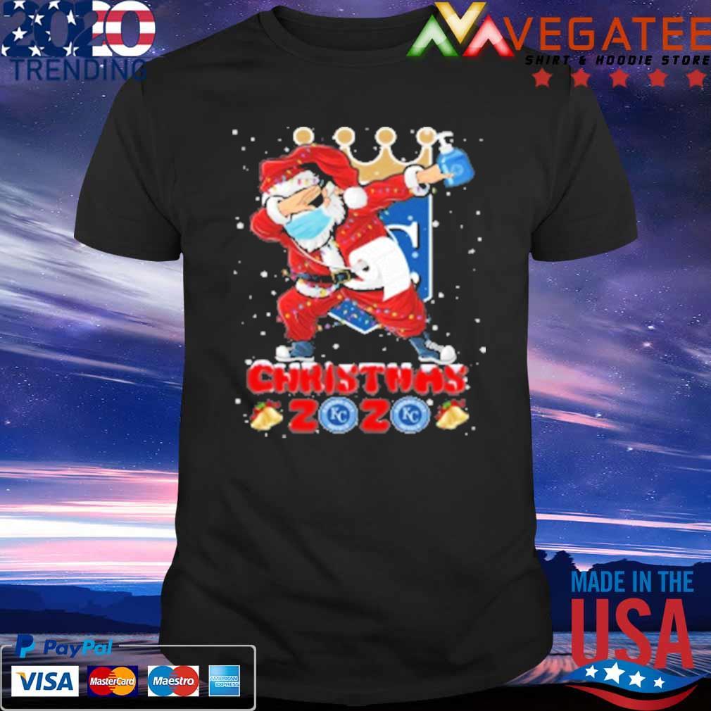 The Royals Christmas 2020 Kansas City Royals Santa Claus Dabbing Christmas 2020 MLB shirt