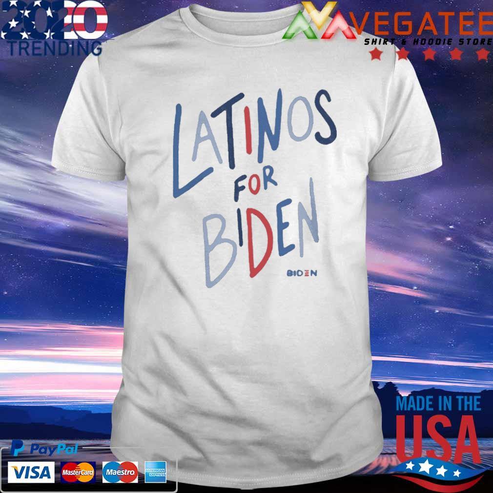 Latinos For Biden shirt