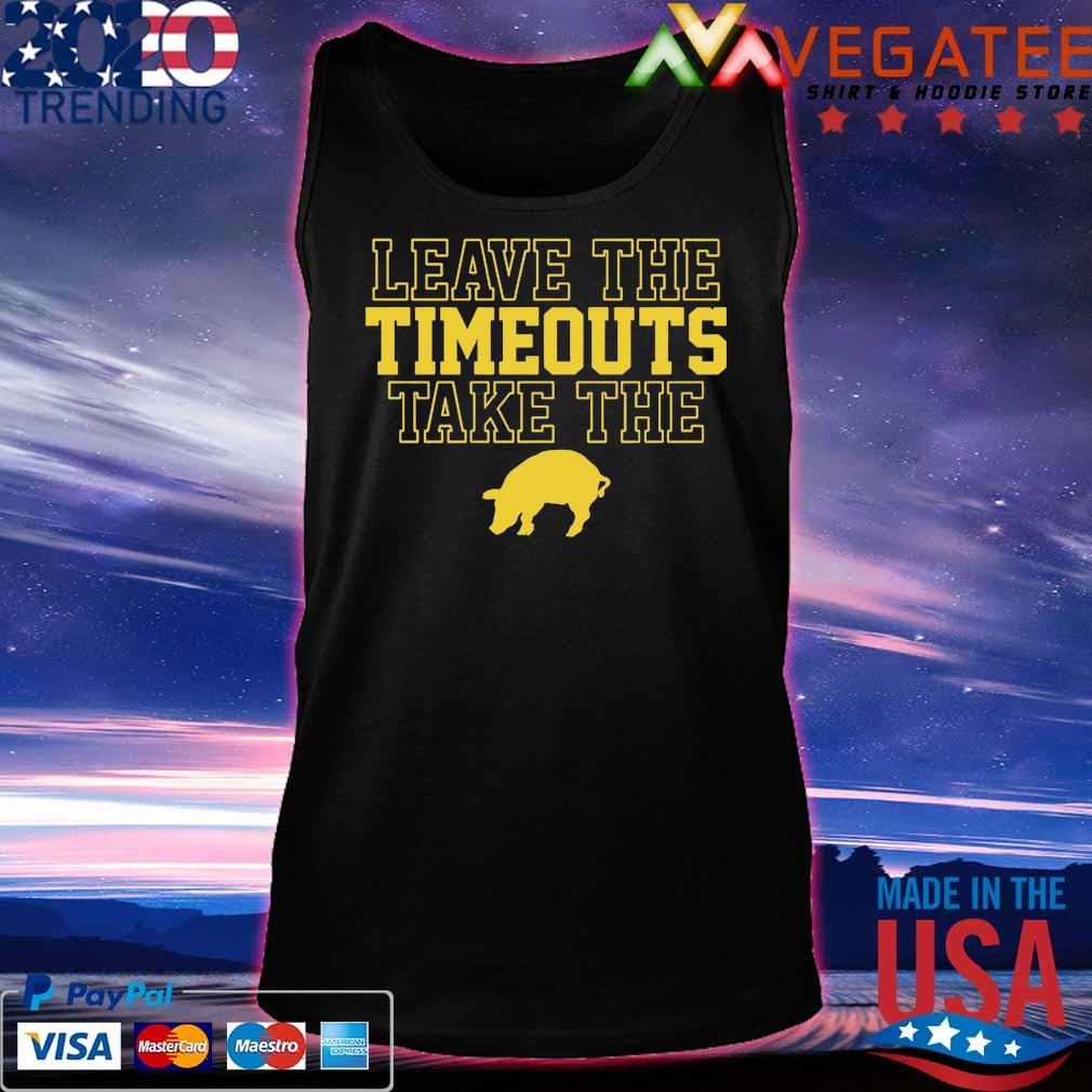 Leave The Timeouts Take The Pig 2020 Shirt Tanktop