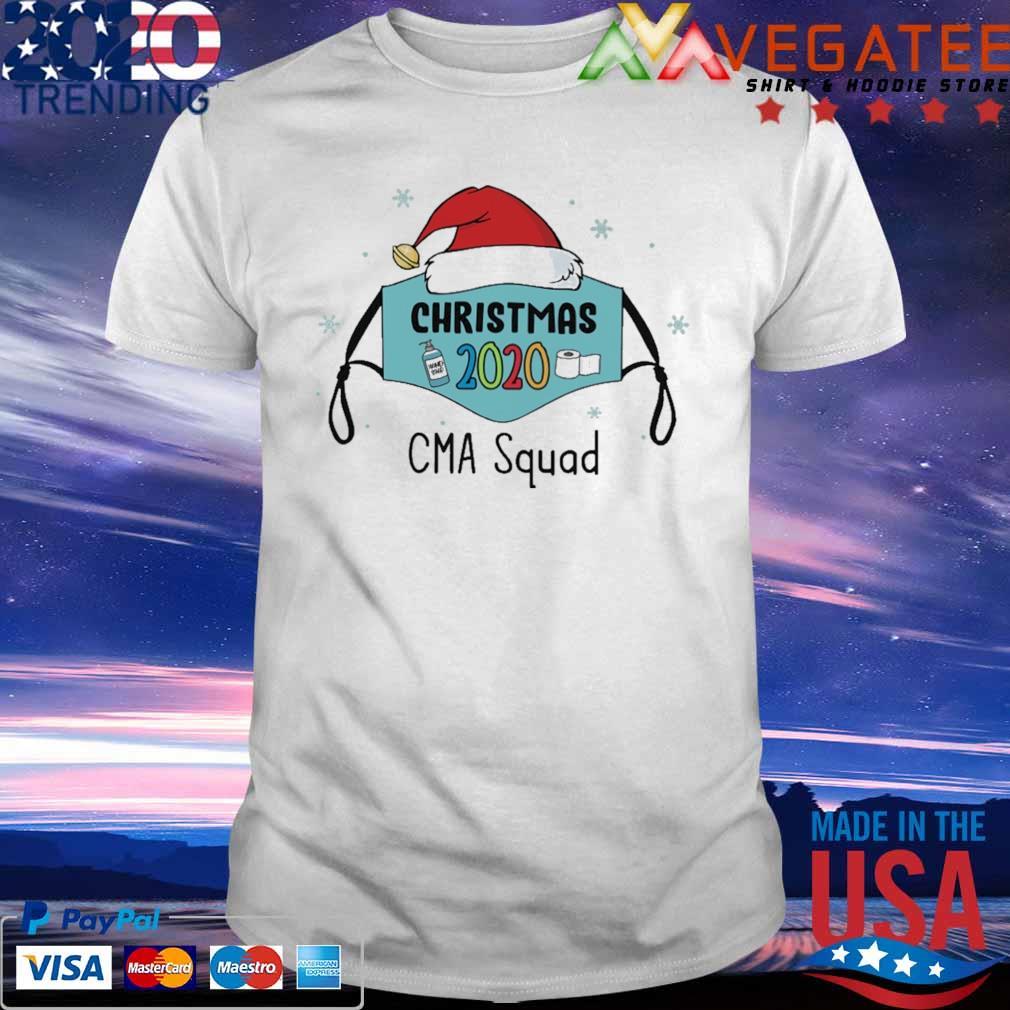 Mask Santa 2020 anti Covid-19 Merry Christmas 2020 CMA squad shirt