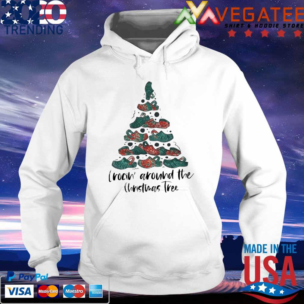 Official Crocin' Around The Christmas Tree Shirt hoodie