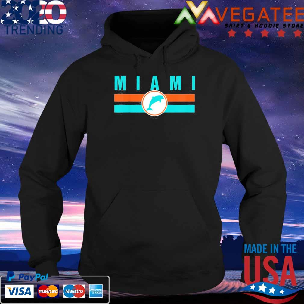 Official MIA Miami Local Standard MIA Retro Dolphin Miami FL Shirt Hoodie