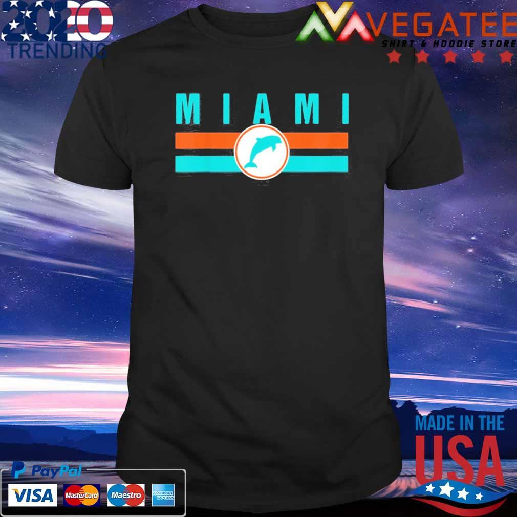 Official MIA Miami Local Standard MIA Retro Dolphin Miami FL Shirt