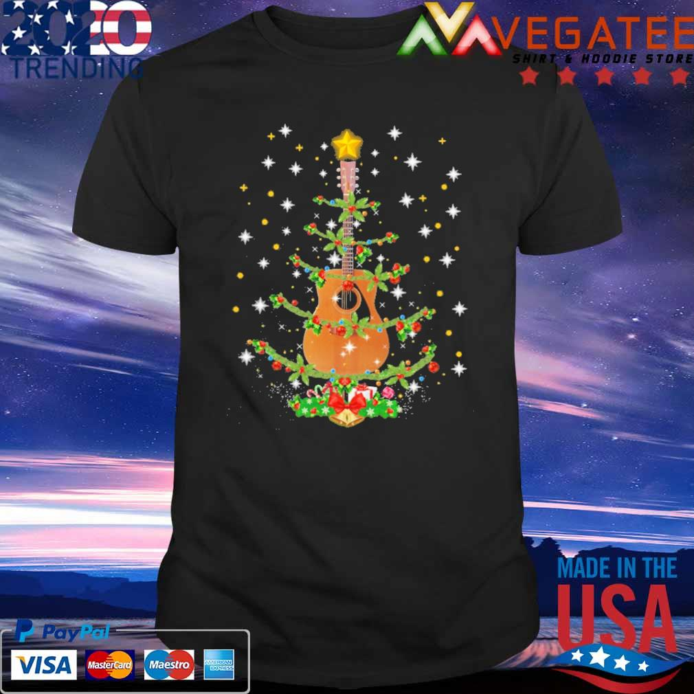 Guitar Christmas Tree sweatshirt