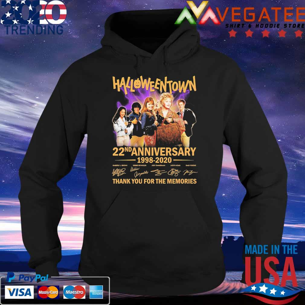 HalloweenTown 22nd anniversary 1998 2020 thank you for the memories signatures s Hoodie