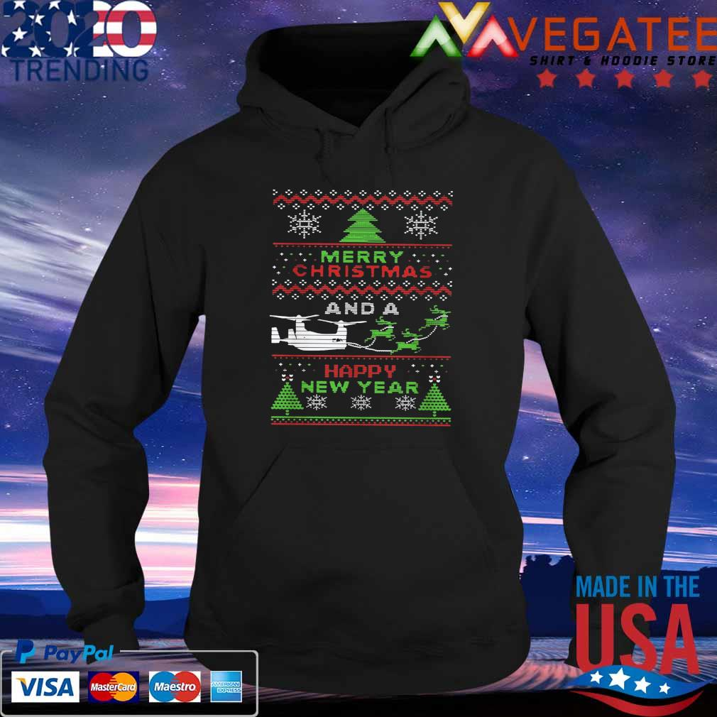 Merry Christmas and a Happy New Year ugly sweats Hoodie