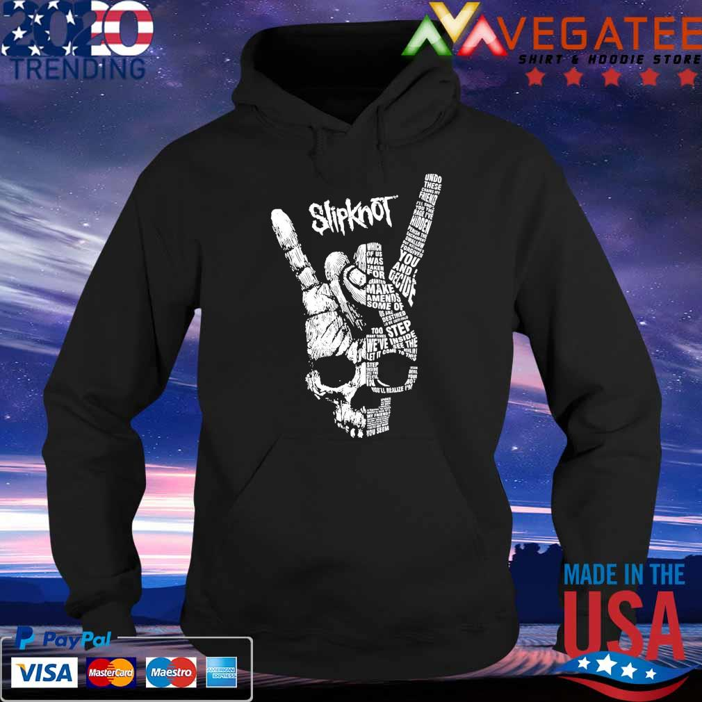 Official Rock Hand Skull Slipknot Shirt Hoodie