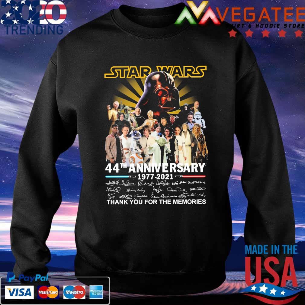 Official Star Wars 44th anniversary 1977 2021 thank you for the ...