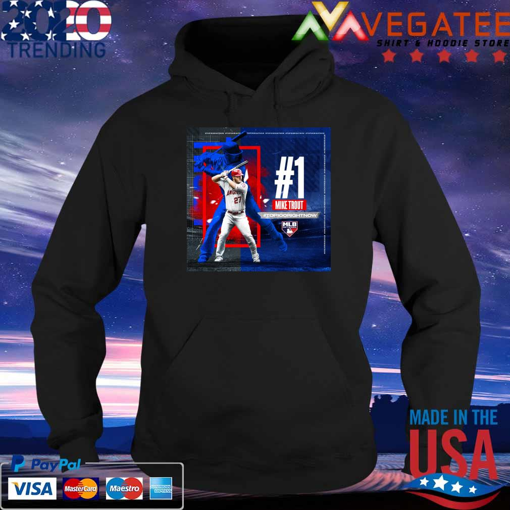 #1 Mike Trout #Top100 Right Now Mlb network s Hoodie