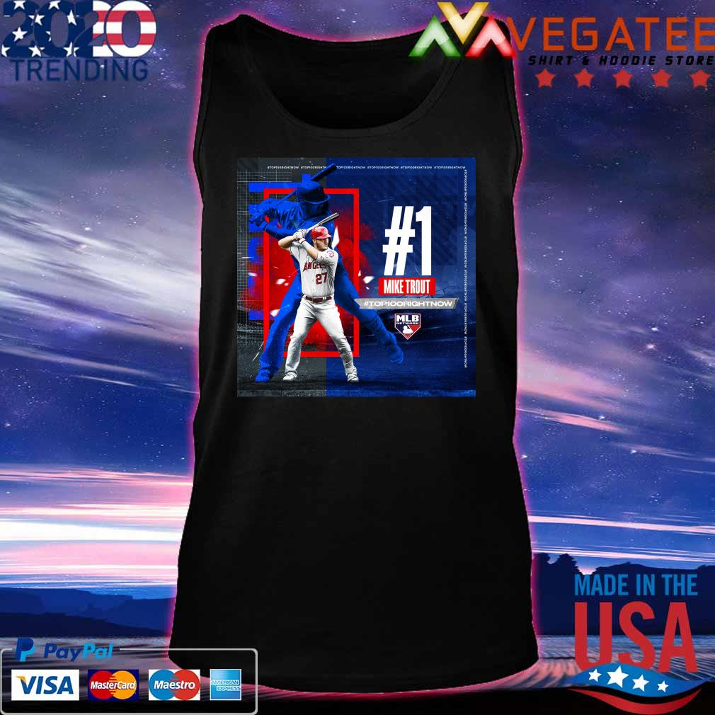 #1 Mike Trout #Top100 Right Now Mlb network s Tanktop
