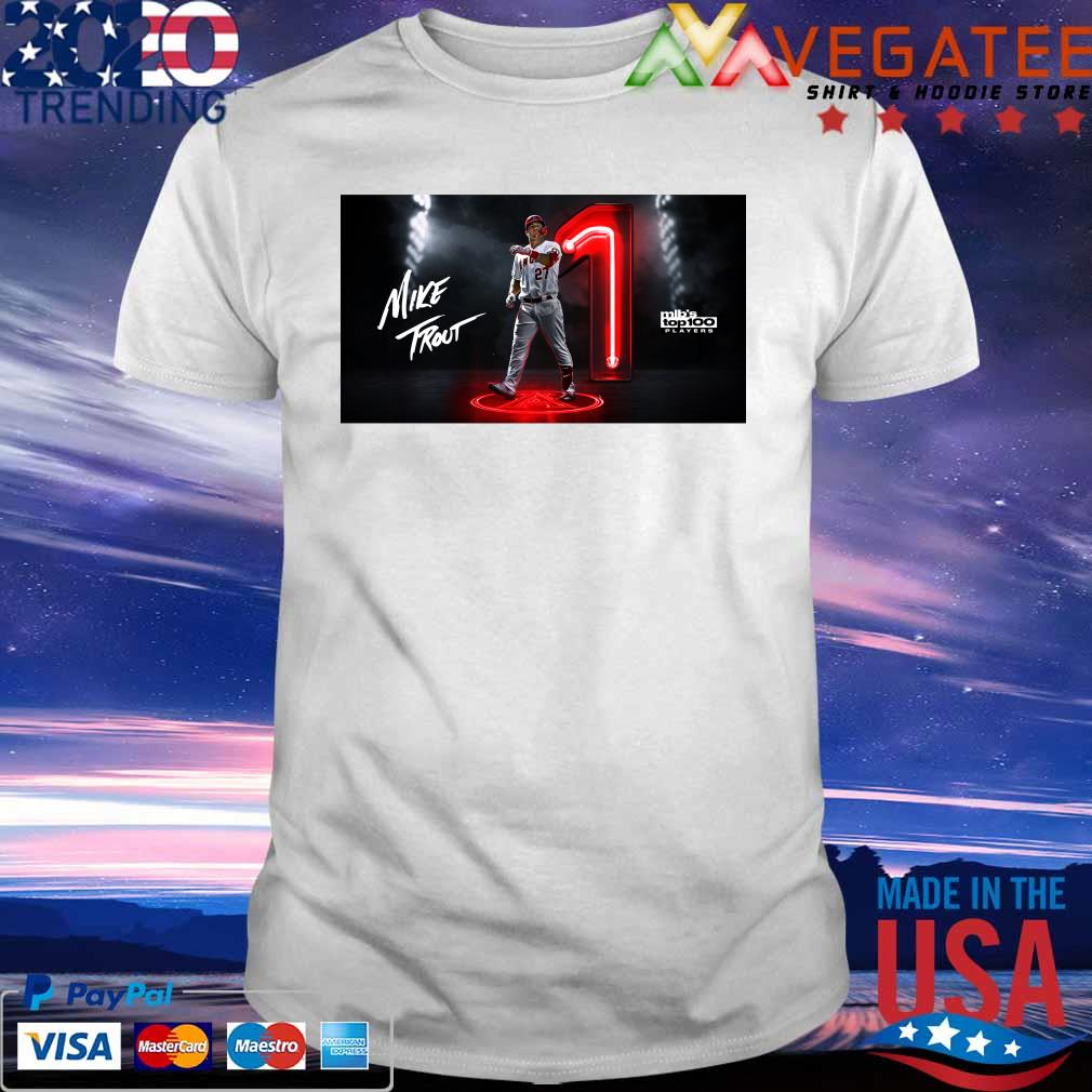 Mike Trout Mlb's top 100 Players shirt