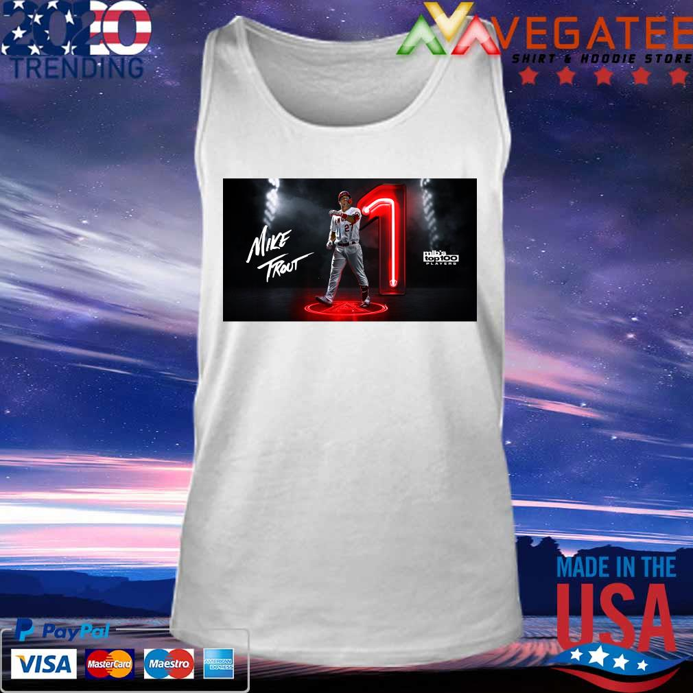 Mike Trout Mlb's top 100 Players s Tank top