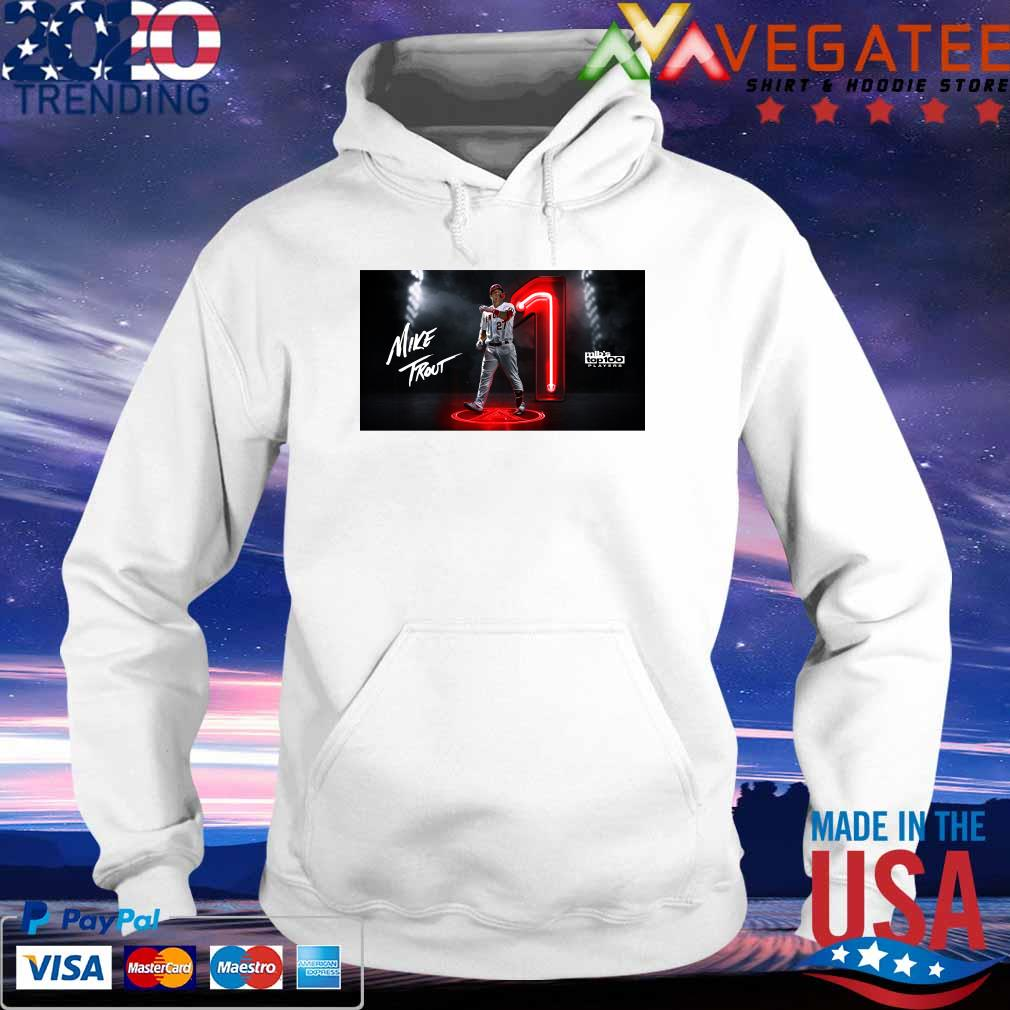 Mike Trout Mlb's top 100 Players s hoodie