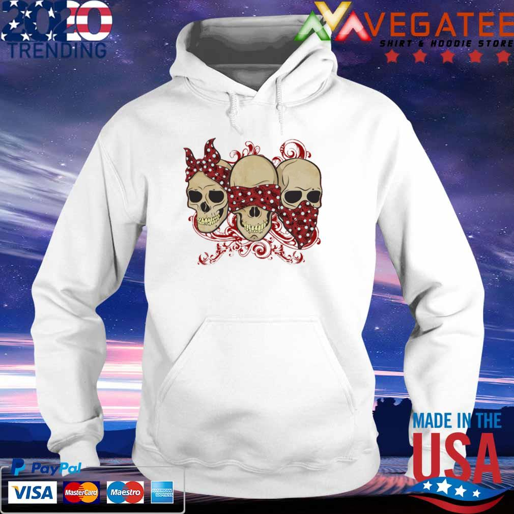 Official Three Calavera Skulls Jaw Shirt hoodie
