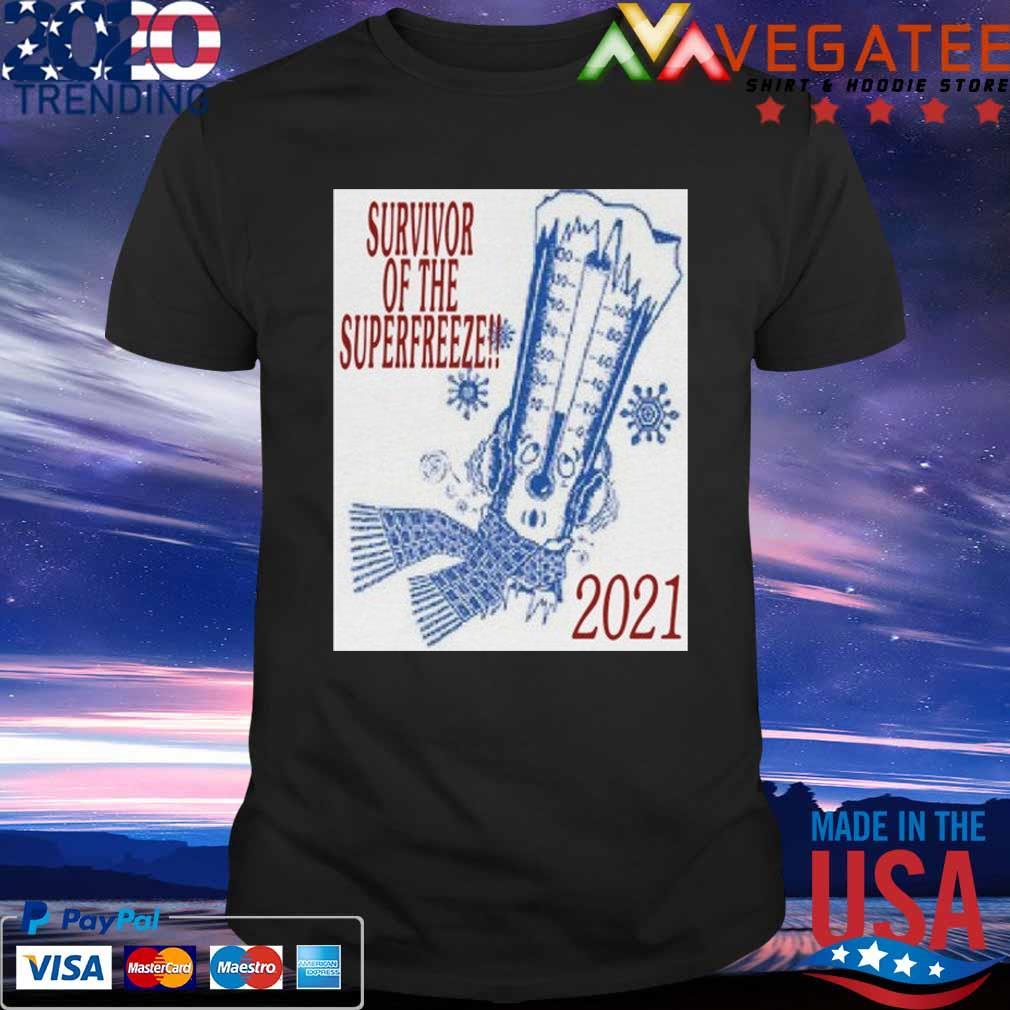 Survivor of the Superfreeze 2021 shirt