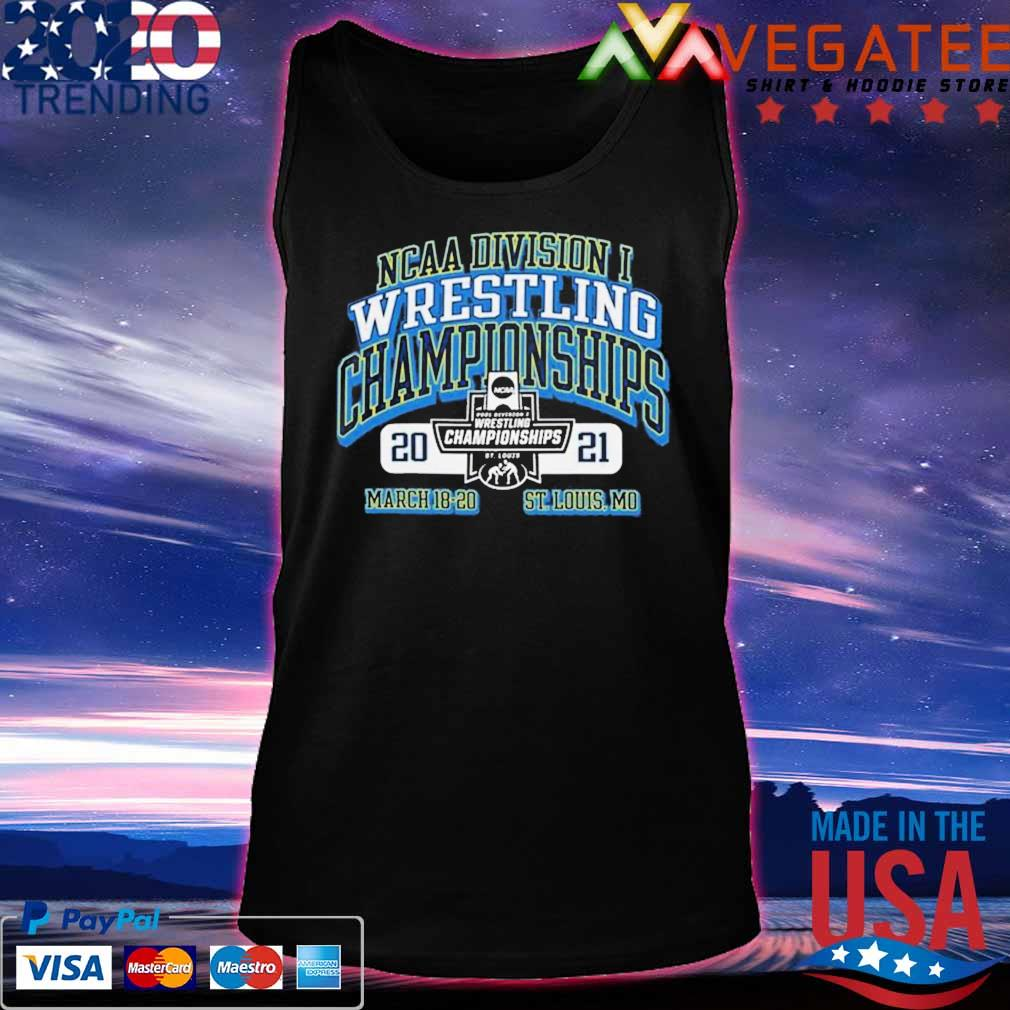 2021 NCAA Division wrestling Championships march 18 20 St louis Mo s Tanktop