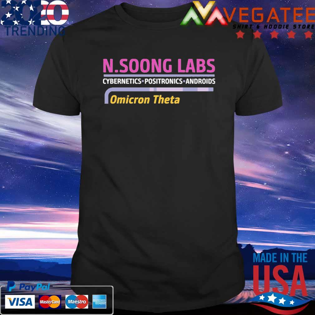 N.soong labs cybernetics positronics androids Omicron Theta shirt.png