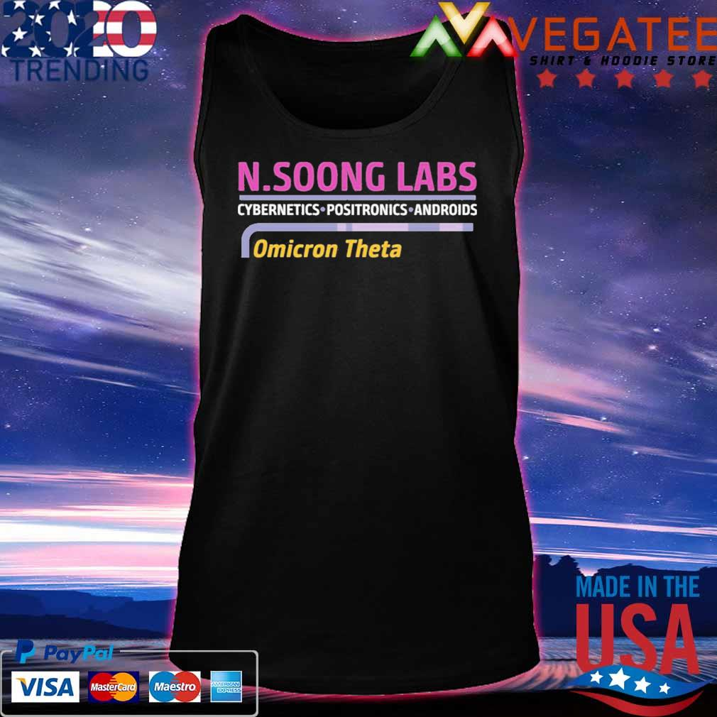 N.soong labs cybernetics positronics androids Omicron Theta shirt.png Tanktop