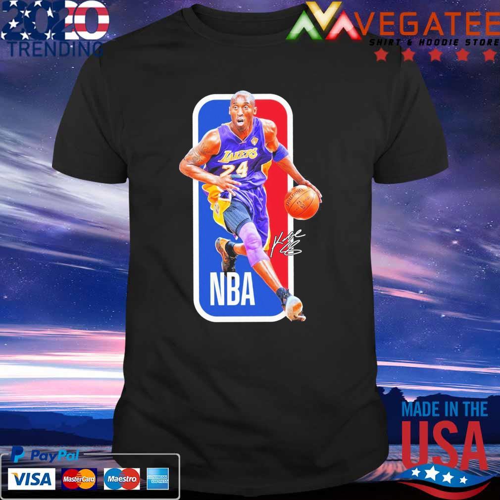 NBA Basketball Legend Kobe Bryant signature 2021 shirt