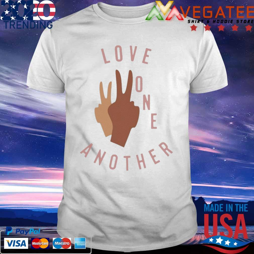Official Old Navy Love One Another Shirt