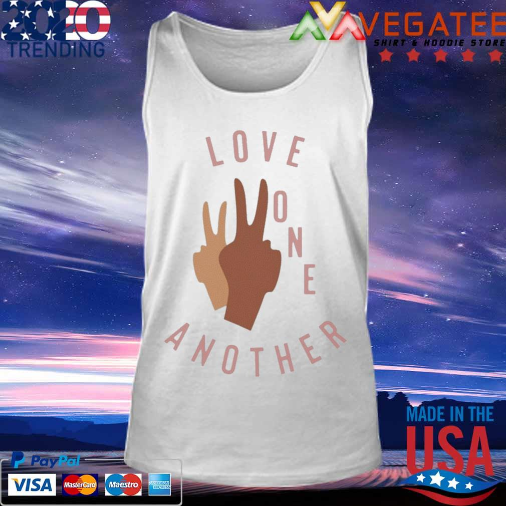 Official Old Navy Love One Another Shirt Tank top