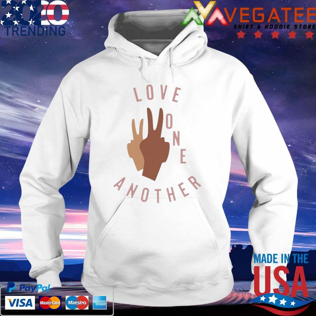 Official Old Navy Love One Another Shirt hoodie