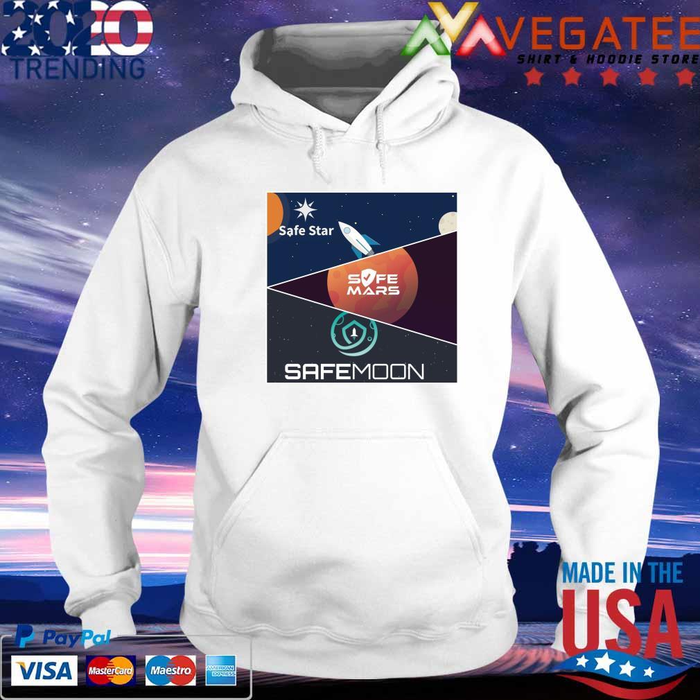 Safe Moon Safe Mars CafeStare s hoodie