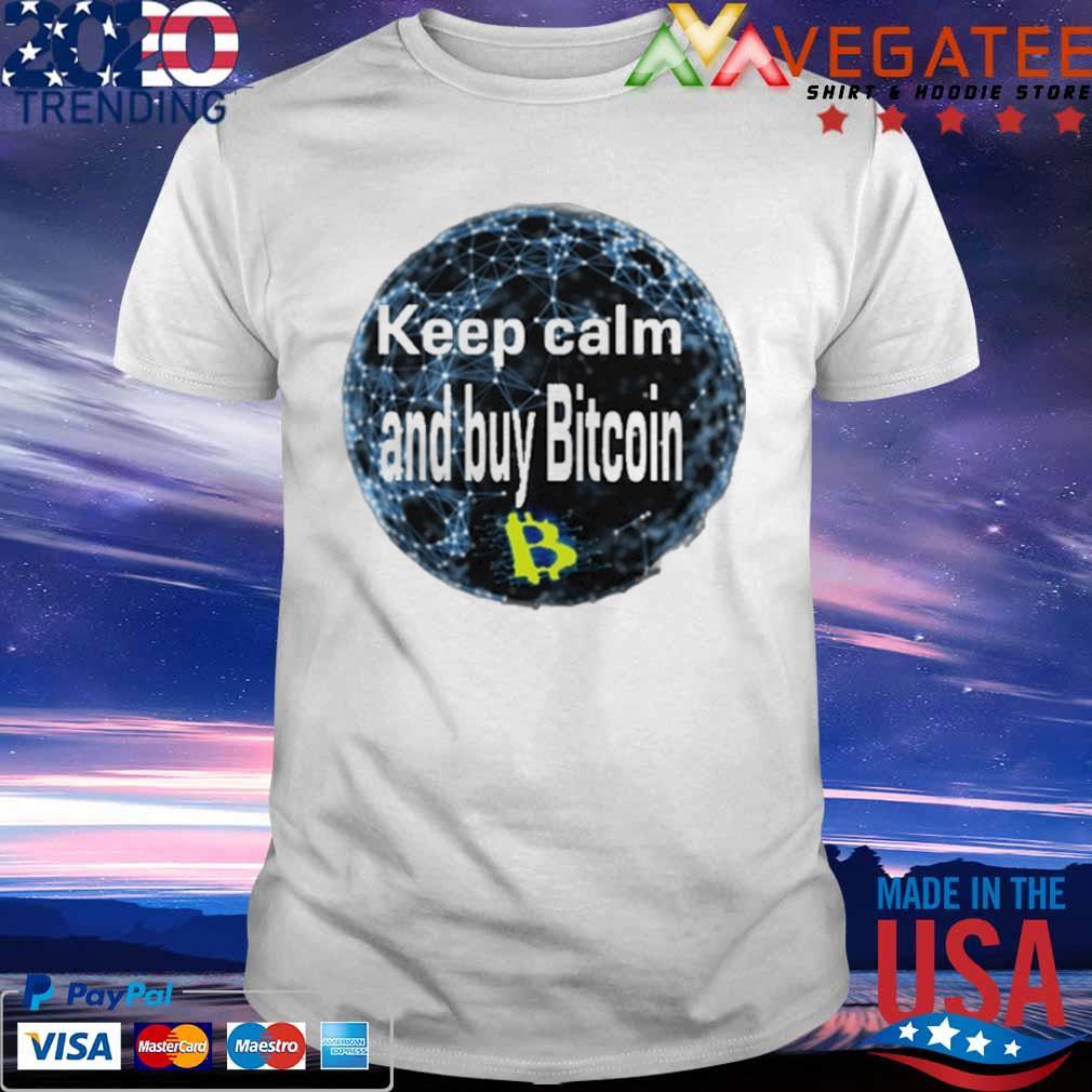 Safemoon Keep calm and buy Bitcoin shirt