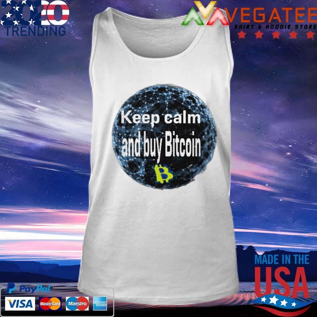 Safemoon Keep calm and buy Bitcoin s Tank top