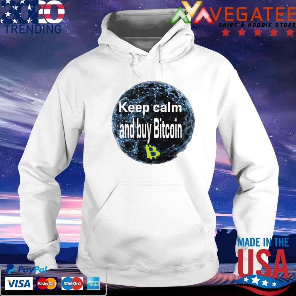 Safemoon Keep calm and buy Bitcoin s hoodie