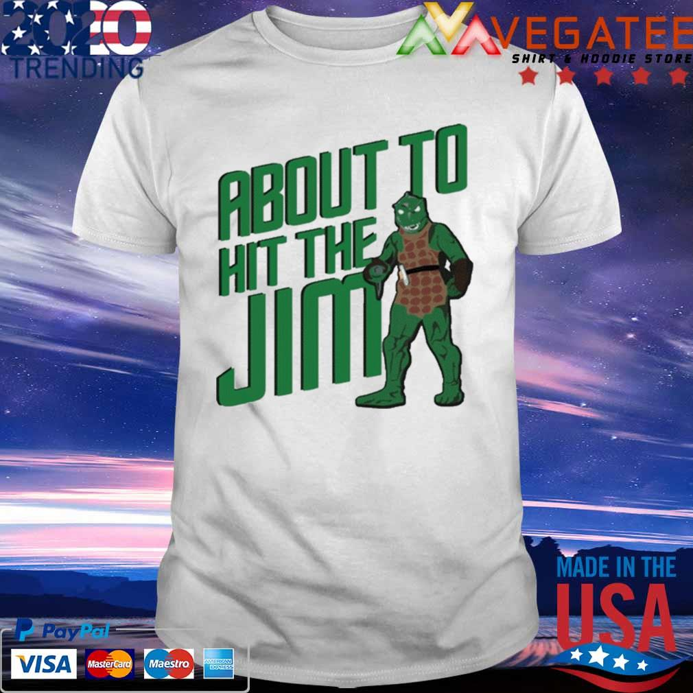 Star Trek about to hit the Jim T-Shirt