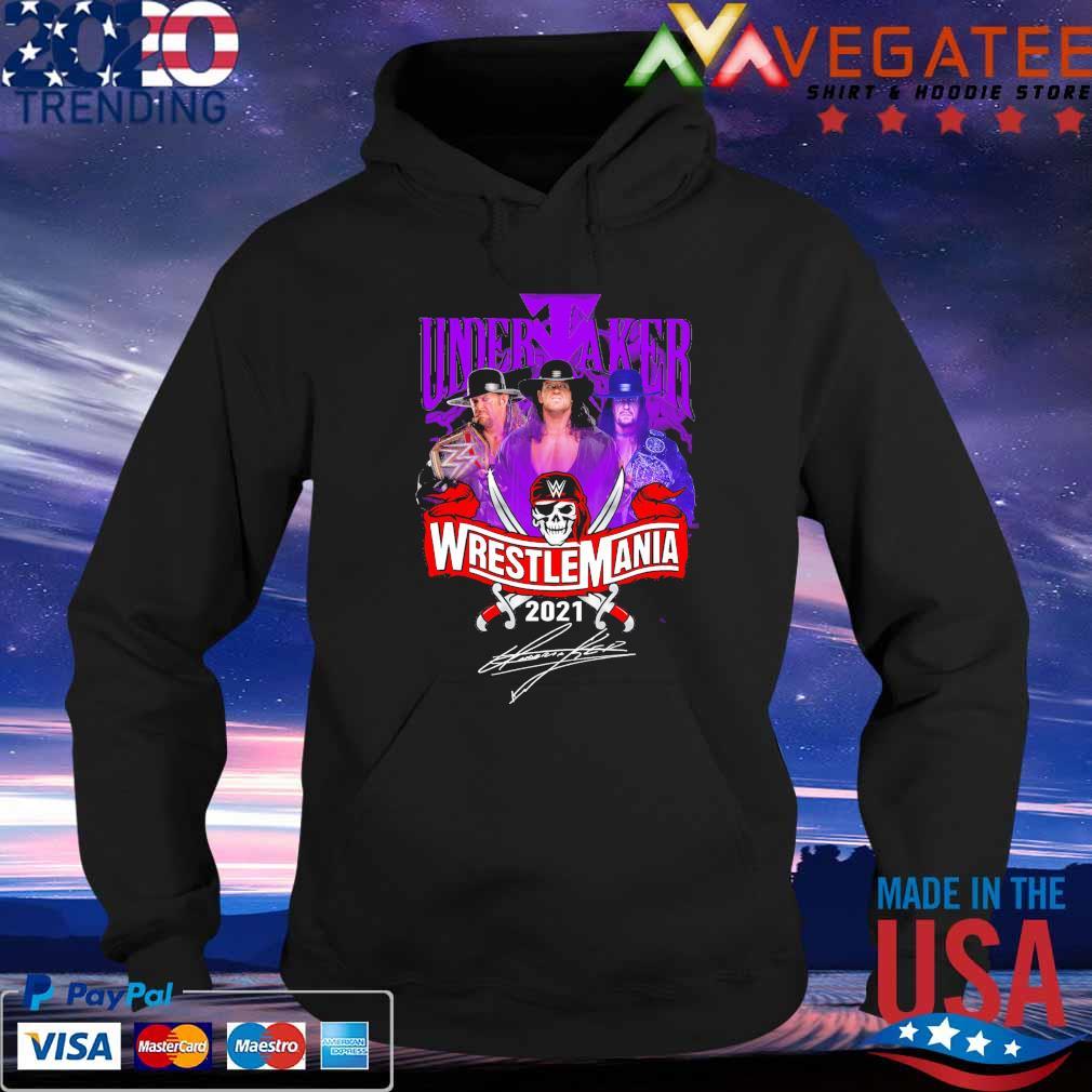 Undertaker Wrestlemania 2021 signature s Hoodie