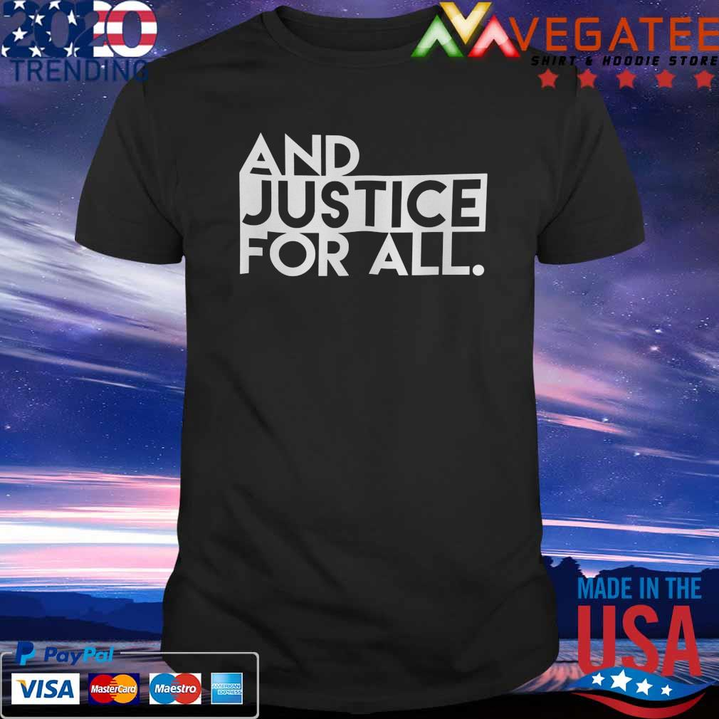 America Justice for All shirt