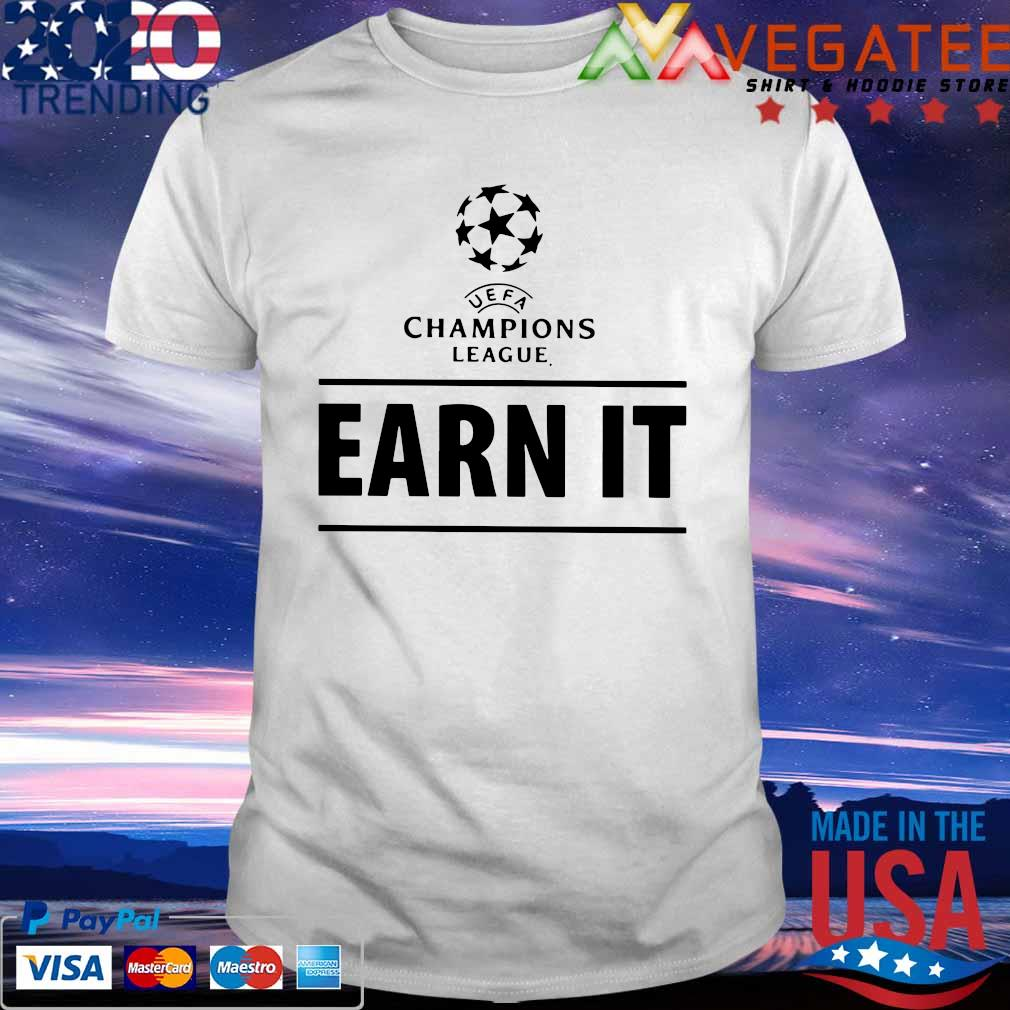 Earn It Football Is For The Fans T-Shirt