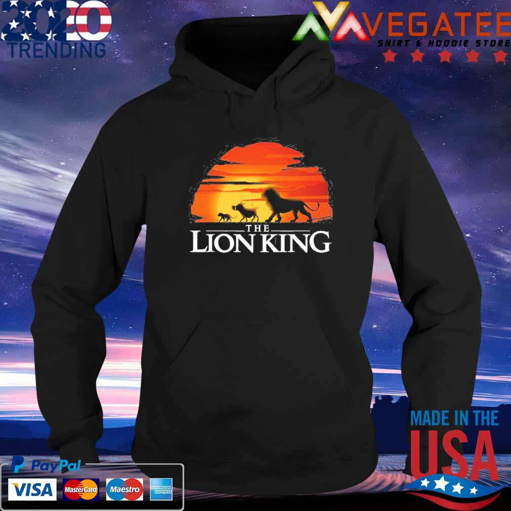 Lion king live action king sunset s Hoodie
