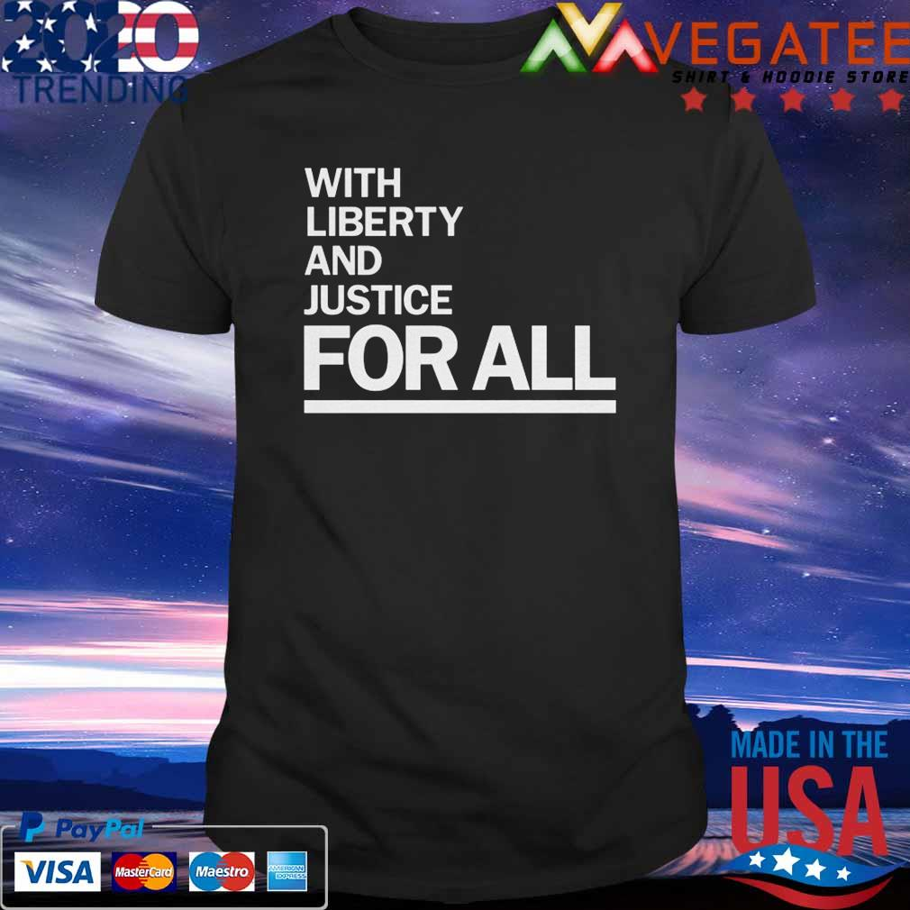 Official America With Liberty and Justice for all-Wright- t-shirt