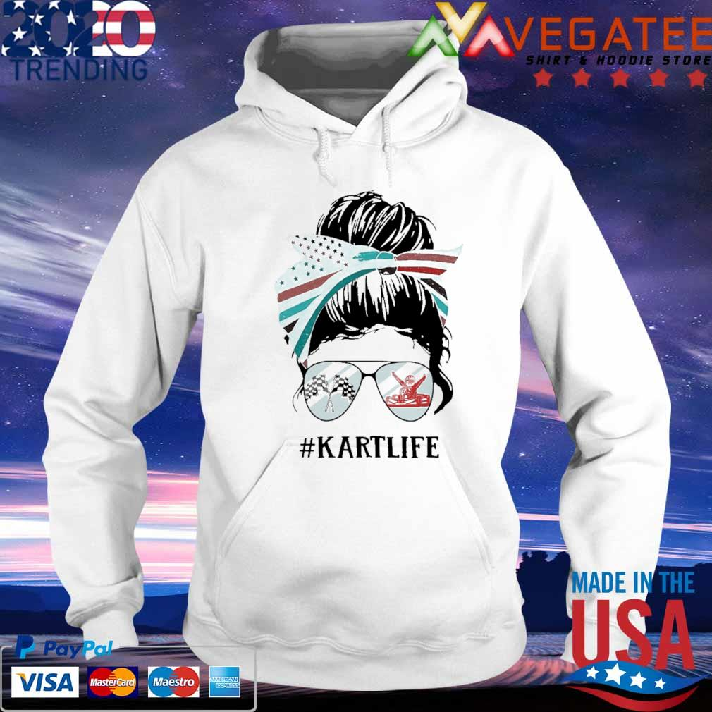 Official Messy Bun Karting #Kart Life s hoodie