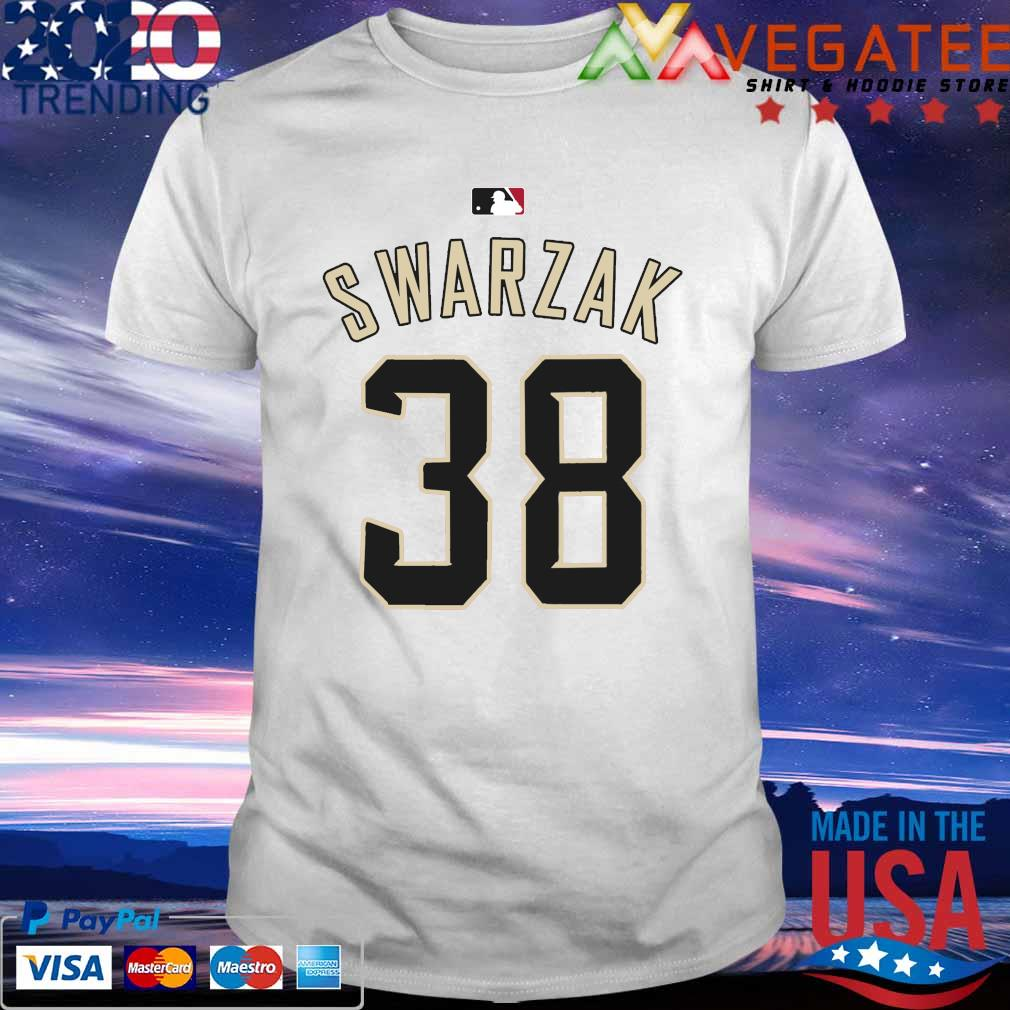RHP Anthony Swarzak MLB Jersey Numbers 38 shirt
