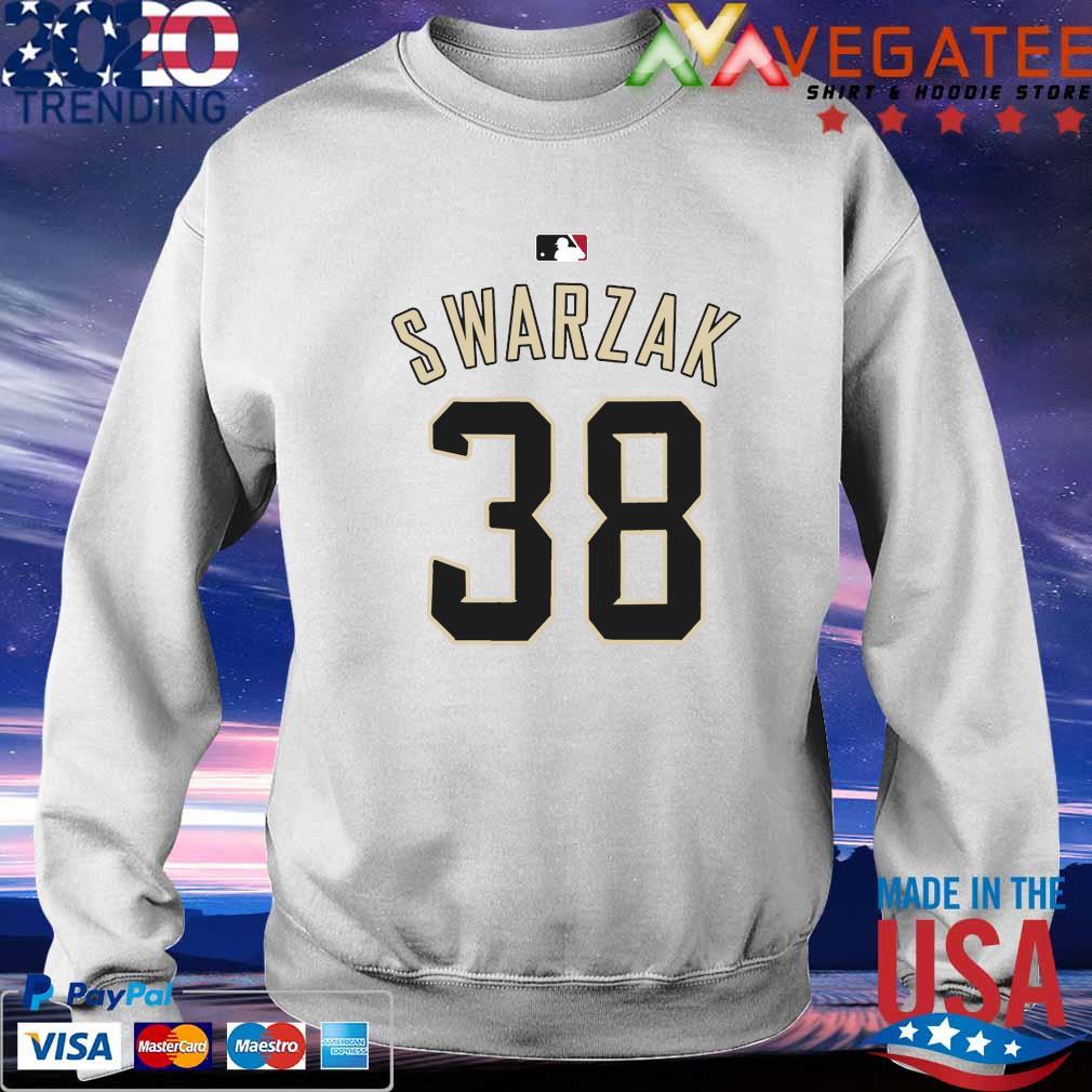 RHP Anthony Swarzak MLB Jersey Numbers 38 s Sweatshirt