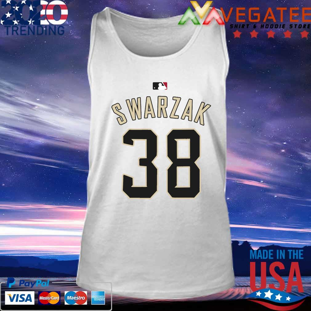 RHP Anthony Swarzak MLB Jersey Numbers 38 s Tank top